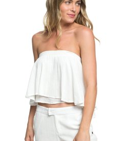 Roxy Roxy Enchanted Escape Ruffle Bandeau Top