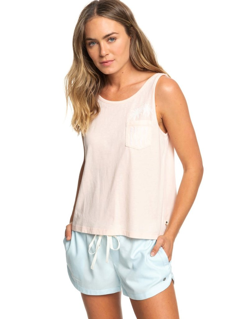 Roxy Roxy Sunday Morning Feeling Boxy Tank Top