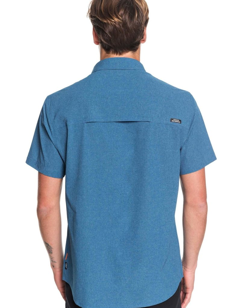 Quiksilver Quiksilver Waterman Tech Technical UPF 30 Short Sleeve Shirt