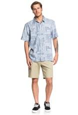 Quiksilver Quiksilver Waterman Vaianae Bay Short Sleeve Shirt