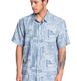 Quiksilver Quiksilver Waterman Vaianae Bay Short Sleeve Shirt
