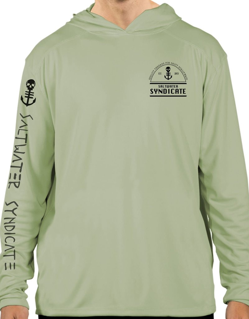 Saltwater Syndicate Saltwater Syndicate The Label Performance Hooded Shirt