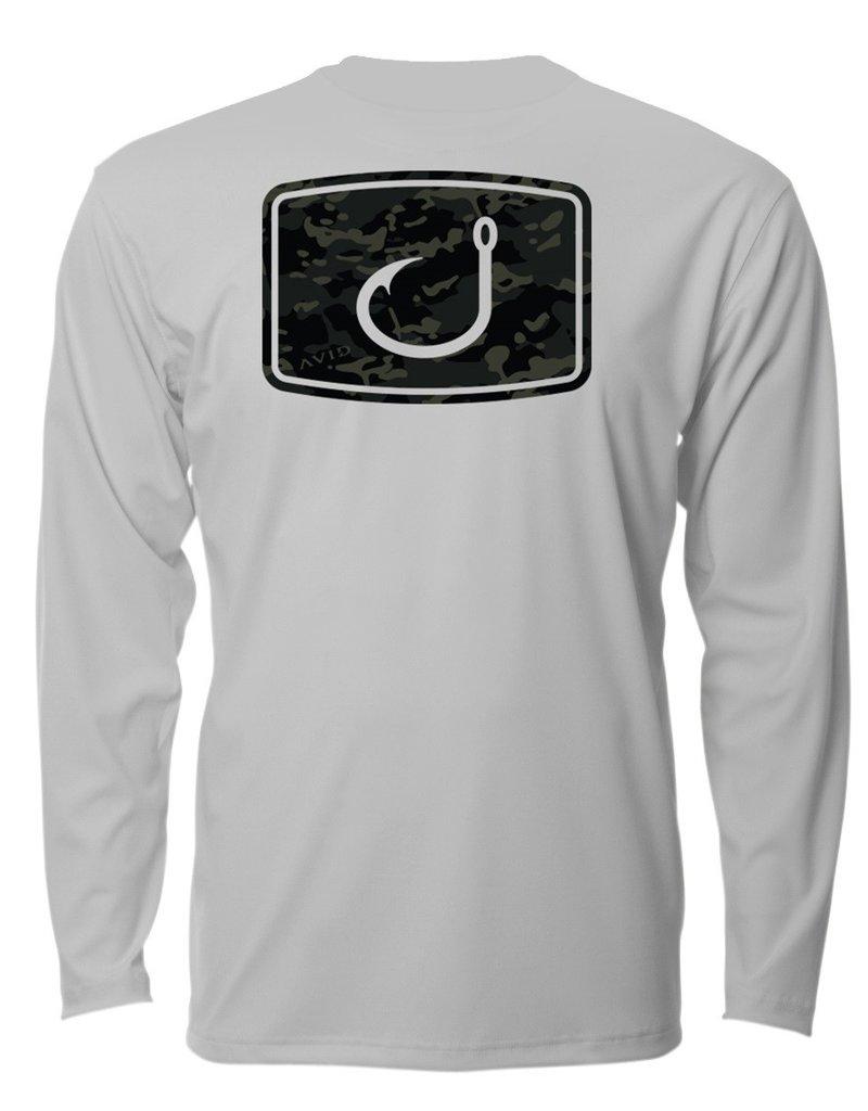 Avid AVID Black Camo AVIDry Long Sleeve Shirt