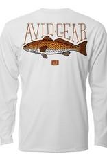 Avid AVID Trophy Redfish AVIDry Long Sleeve Shirt