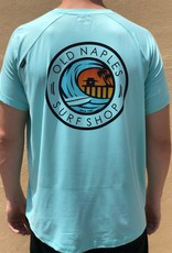 Old Naples Surf Shop ONSS x SWC Surf the Pier Short Sleeve Performance Shirt