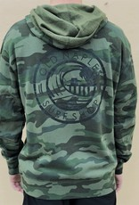 Old Naples Surf Shop ONSS Surf the Pier ZIP UP Hoodie