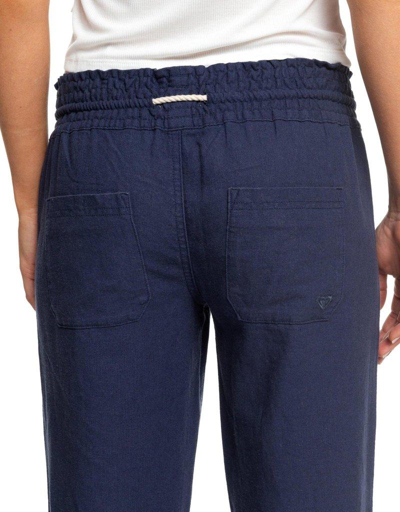 Roxy Roxy Oceanside Flared Linen Pants
