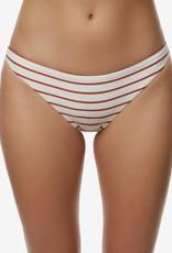 O'Neill O'Neill Karmen Stripe Classic Bikini Bottom