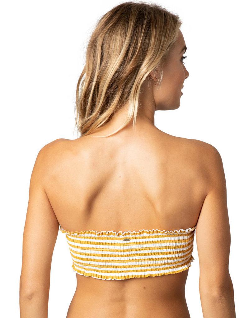 Rip Curl Rip Curl Island Stripe Bandeau Bikini Top