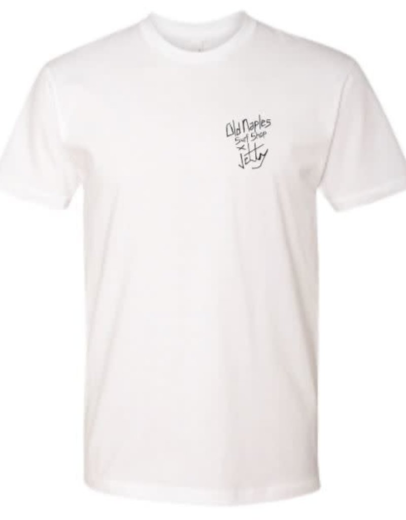 Old Naples Surf Shop ONSS x Jetty Jaws T-Shirt