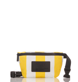 Aloha Vertical Stripe Mini Hip Pack, Canary