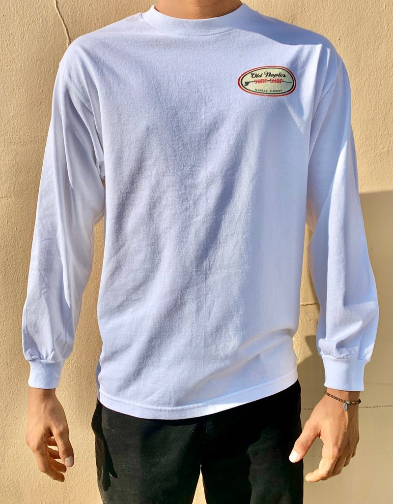 Old Naples Surf Shop ONSS Old Label Long Sleeve T-Shirt