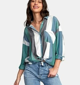 RVCA RVCA Hera Oversized Button-Up Shirt