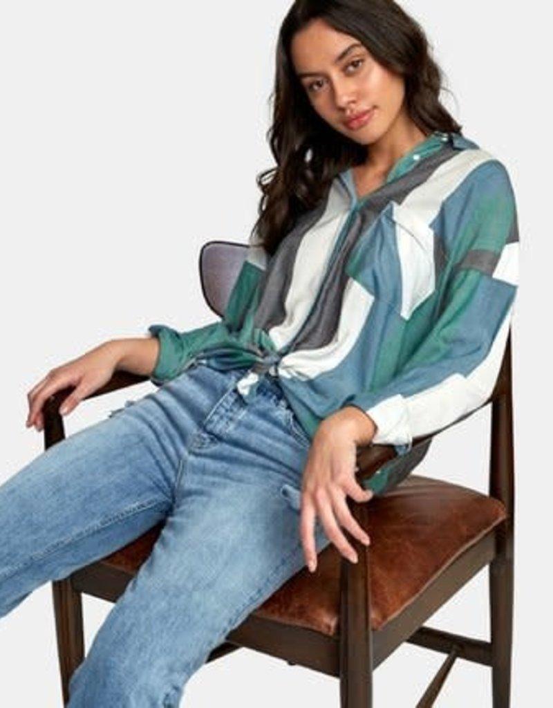 RVCA RVCA Hera Oversized Button-Up Shirt