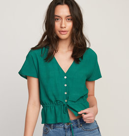 RVCA RVCA Farren Button-Up Top