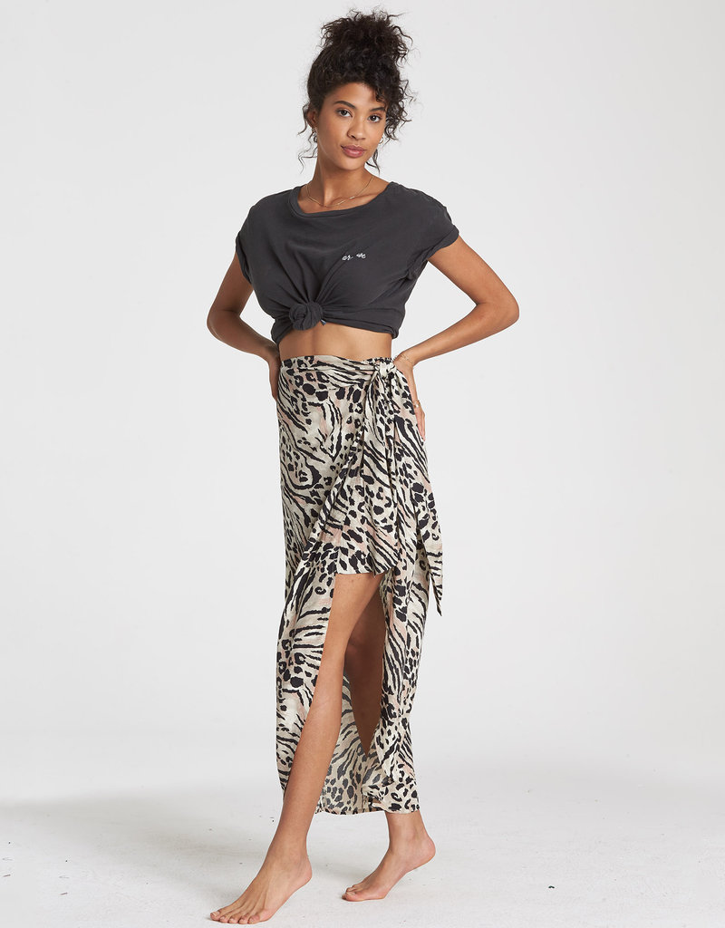 Billabong Billabong Sun Safari Midi Skirt