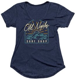 Old Naples Surf Shop ONSS Women's Cami V-Neck T-Shirt