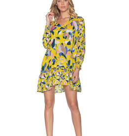Maaji Maaji Yellow Sky Ahead Tunic Dress