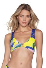 Maaji Maaji Jessamine Glee Fixed Halter Bikini Top
