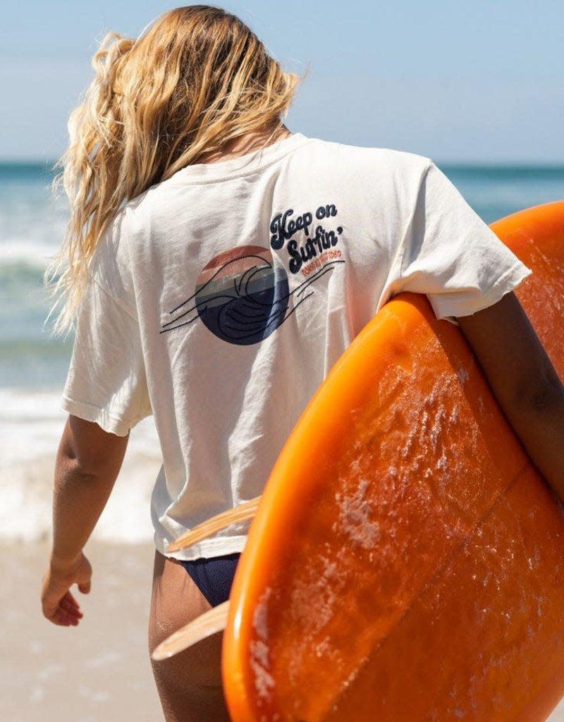 Rip Curl Rip Curl Keep On Surfin Crop Tee
