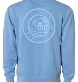 Old Naples Surf Shop ONSS Surf the Pier Crew Sweatshirt