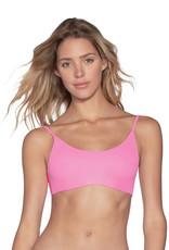 Maaji Maaji Taffy Pink Lanai Bralette Bikini Top