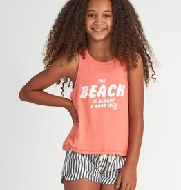 Billabong Billabong Girls Beach Idea Tank Top