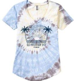Old Naples Surf Shop ONSS Women's Chaser V-Neck T-Shirt