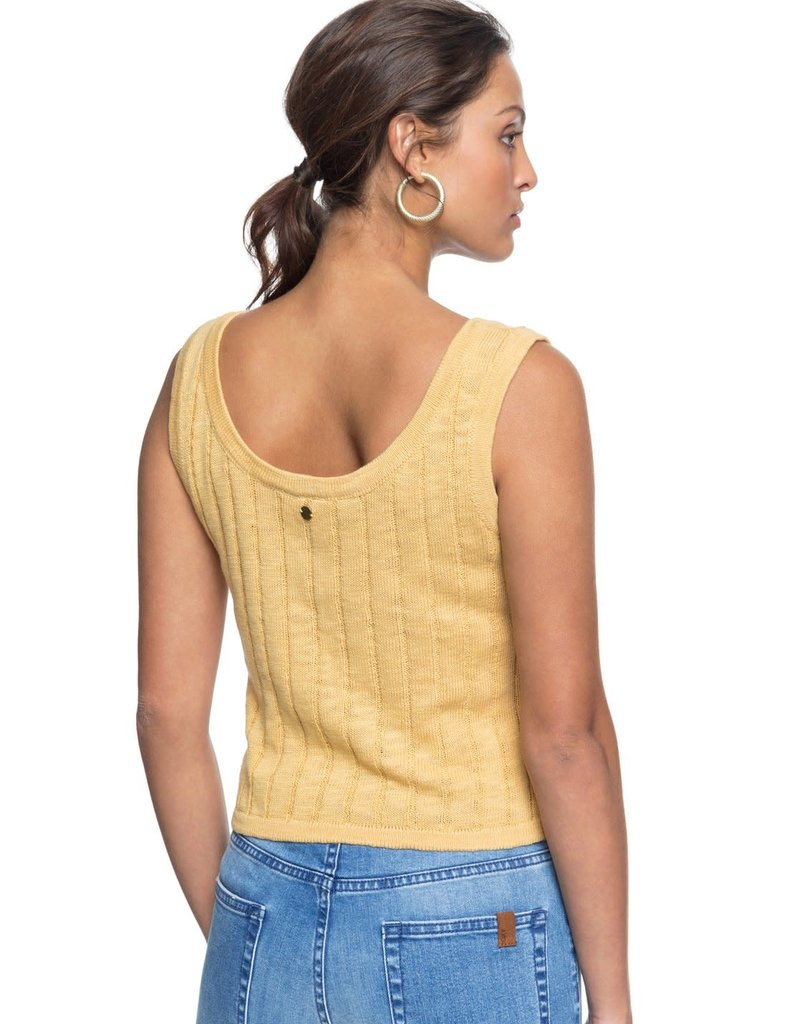 Roxy Roxy Be Sensational Buttoned Knitted Tank Top