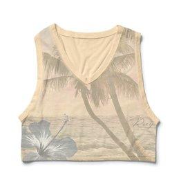 Roxy Roxy Pineapple Paradise V-Neck T-Shirt