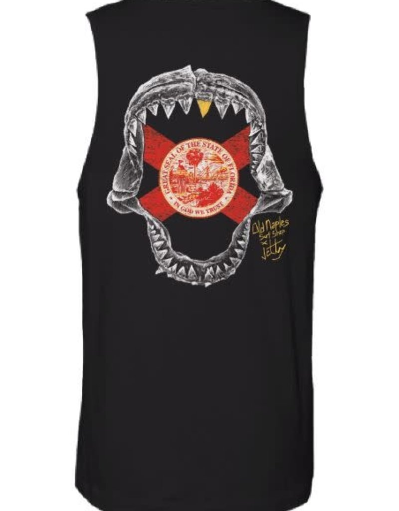 Old Naples Surf Shop ONSS x Jetty Jaws Tank Top