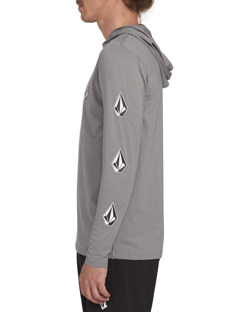 Volcom Volcom Deadly Stone Hooded Long Sleeve UPF 50 Rashguard