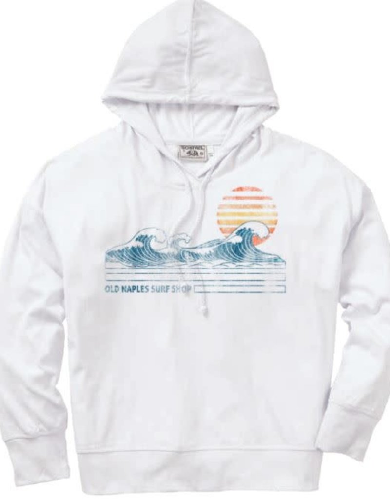 Old Naples Surf Shop ONSS Training Day Knit Hoodie