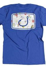 Avid AVID Party Print Hook Icon T-Shirt