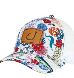 Avid AVID Fish Floral Trucker Hat