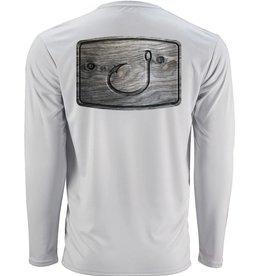 Avid AVID Wood Grain AVIDry Long Sleeve Performance Shirt