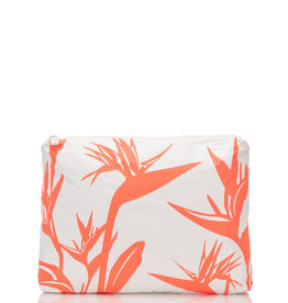 Aloha Collection Aloha mid Birds in Paradise, neon coral