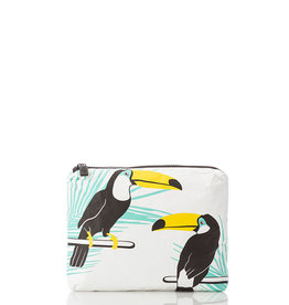 Aloha Collection Aloha small Toucans, toco toco on white