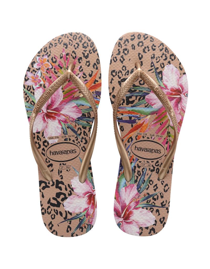 Havaianas Havaianas Slim Animal Floral Sandal