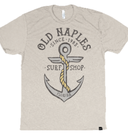 Old Naples Surf Shop ONSS Naples Anchor T-Shirt