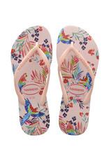 Havaianas Havaianas Slim Tropical Floral Sandal
