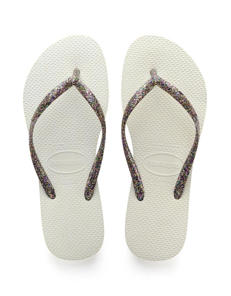 Havaianas Havaianas Slim Logo Metallic Sandal