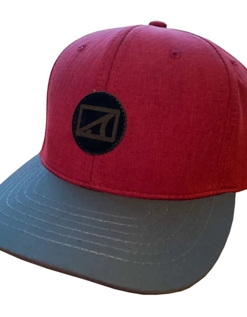 Skinny Water Culture SWC Leatherback Tail Hat Burgundy/Graphite