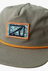 Skinny Water Culture SWC Hat Camo Patch Coyote