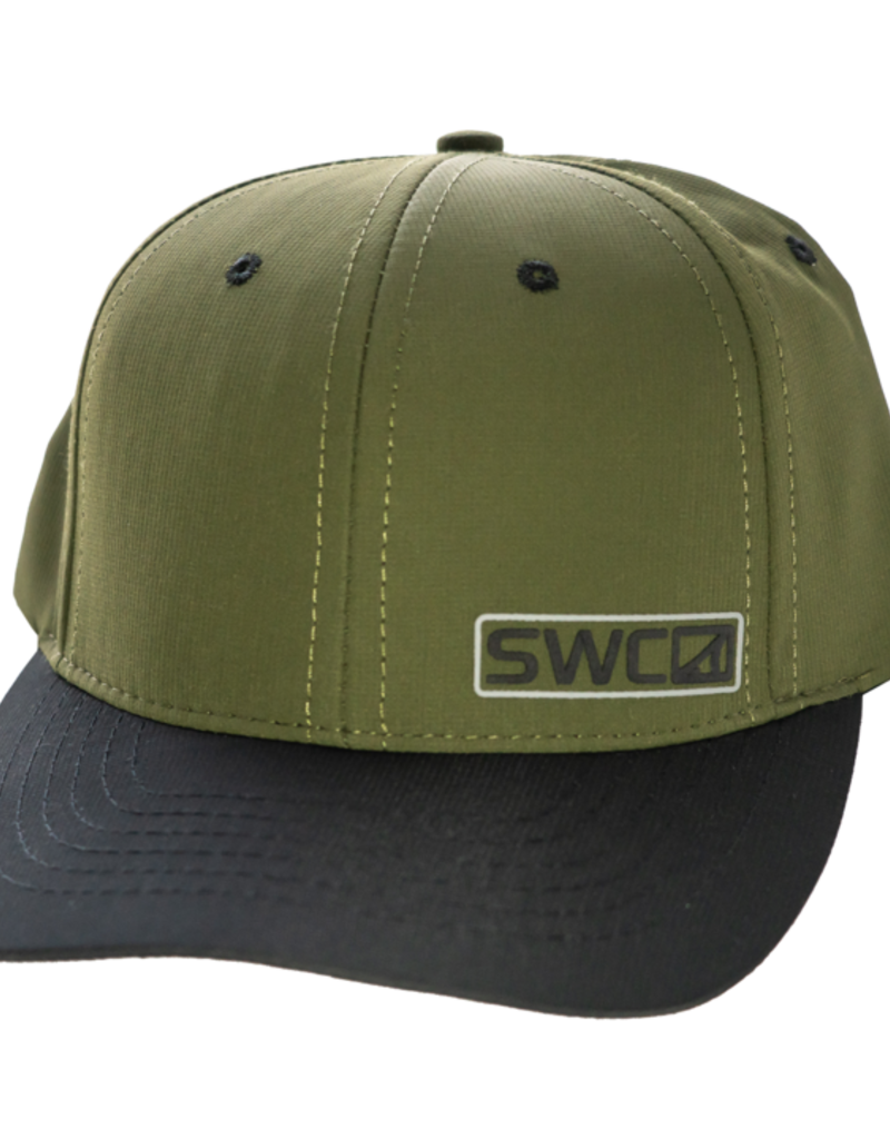 Skinny Water Culture SWC Waterman Performance Hat - Olive