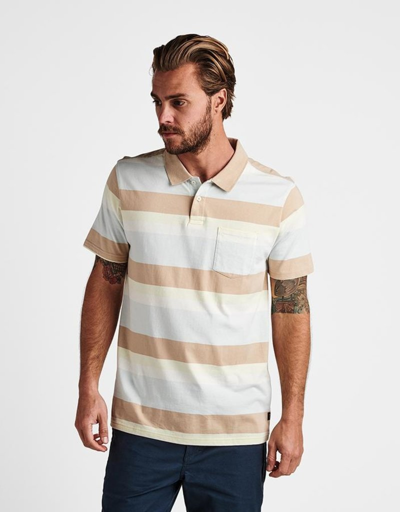 Roark Roark Sunda Stripe Polo Shirt