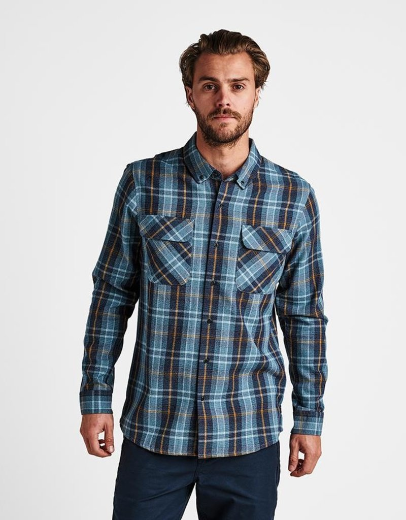 Roark Roark Pinnacles Long Sleeve Flannel Shirt