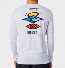 Rip Curl Rip Curl Search Logo Long Sleeve UV Tee