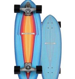 """Carver Carver 31"""" Blue Haze Surfskate Complete C7 Raw"""