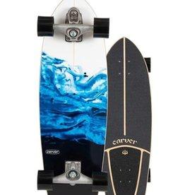 "Carver Carver 31"" Resin Surfskate Complete C7 Raw"